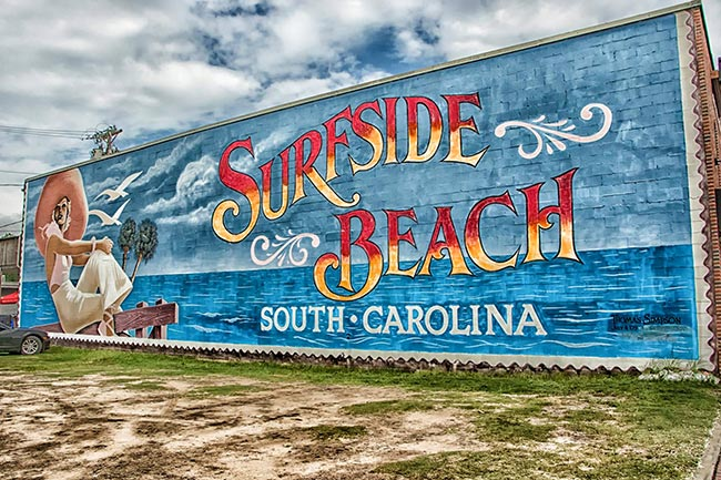 Surfside Beach sign