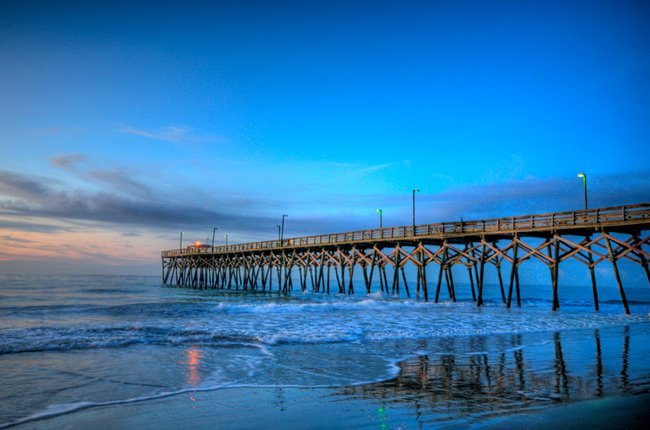 Surfside Pier Night
