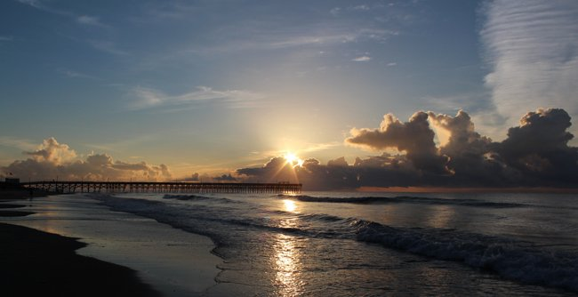 Surfside Pier South Carolina