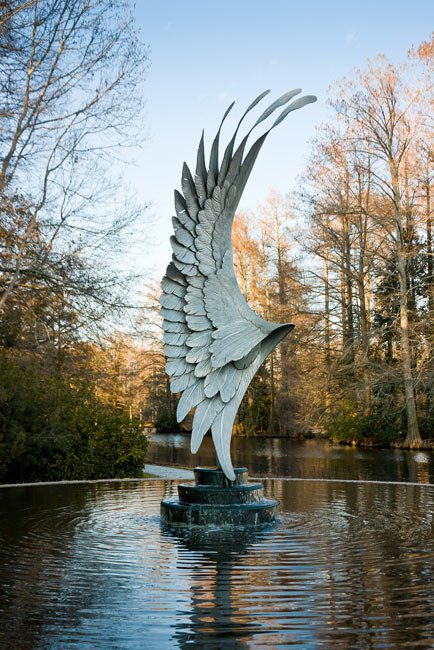 Swan Lake Recovery Statue