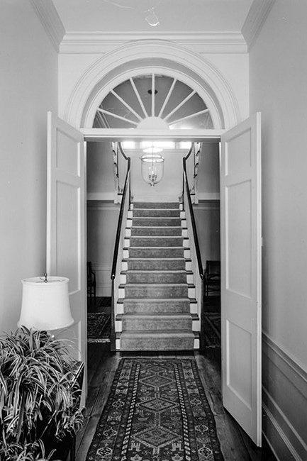Tabby Manse Stairwell