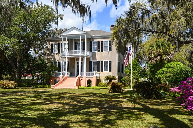 Tabby Manse in Spring, Beaufort