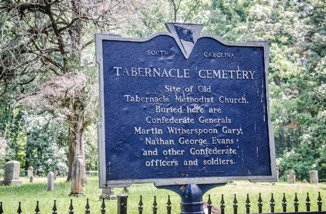Tabernacle Cemetery Greenwood County