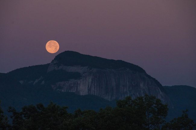 Table Rock Moon