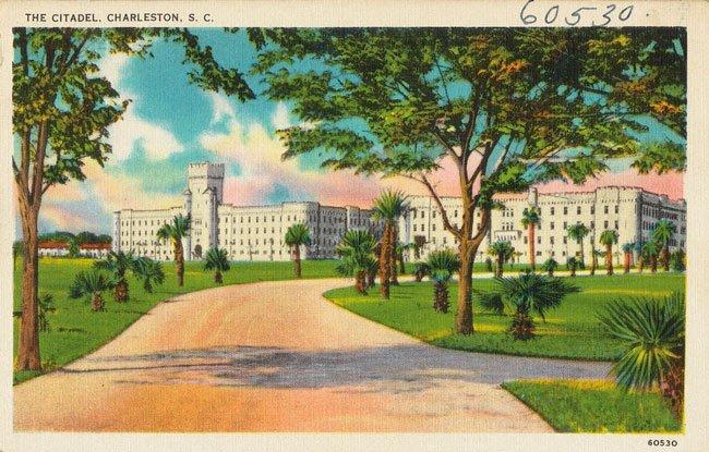 The Citadel Postcard