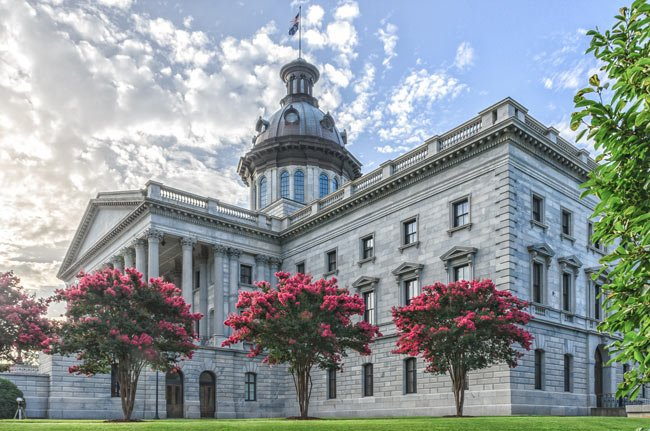 The South Carolina Statehouse