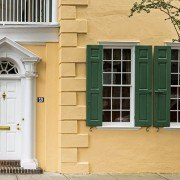 Thomas Rose House Door