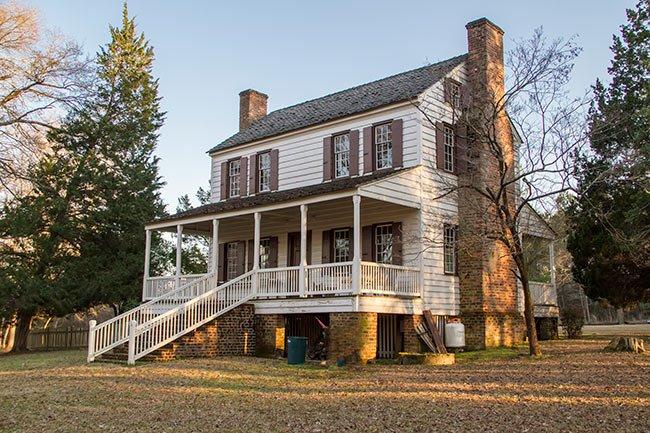 Thorntree Plantation House Rear