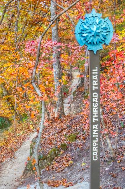 Thread Trail Sign