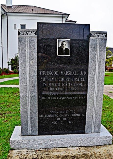 Thurgood Monument