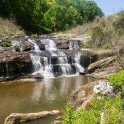 Todd Creek Falls in Six Mile
