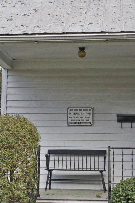 Todd House Entrance