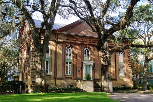 Towell Library at the College of Charleston