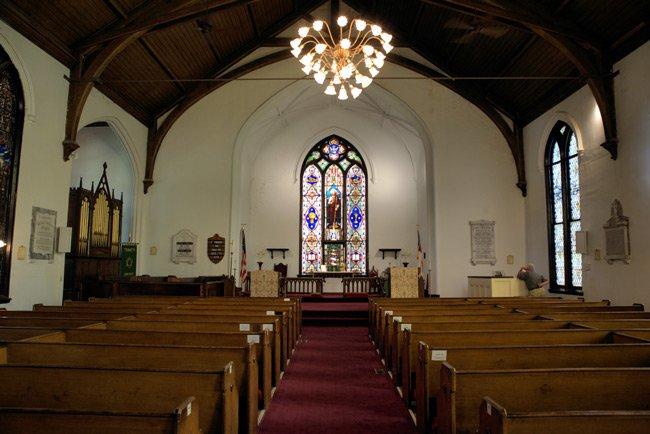 Trinity Abbeville Interior