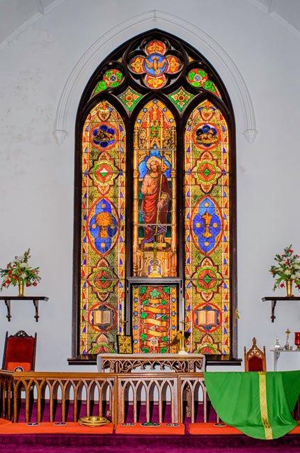Trinity Abbeville Window