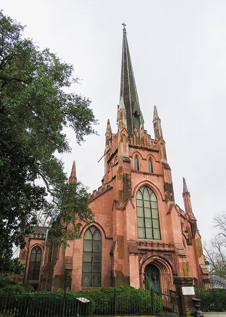 Trinity Episcopal Church Abbeville, Detail
