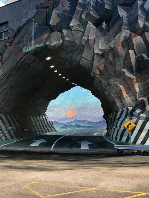 Tunnelvision Mural