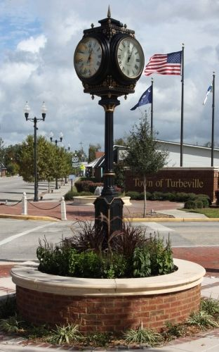 Turbeville Town Clock