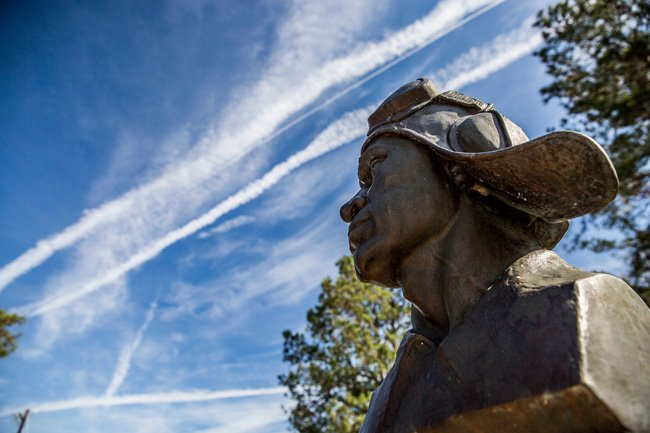 Tuskegee Airmen Sculpture Walterboro