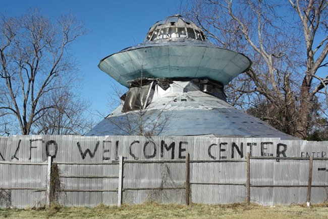 UFO Welcome Center Bowman