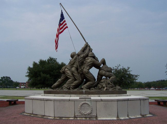 Uncommon Valor Sculpture