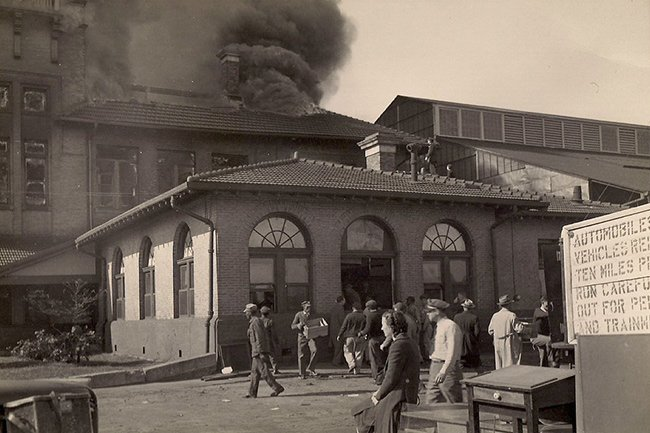 Charleston Union Station FIre