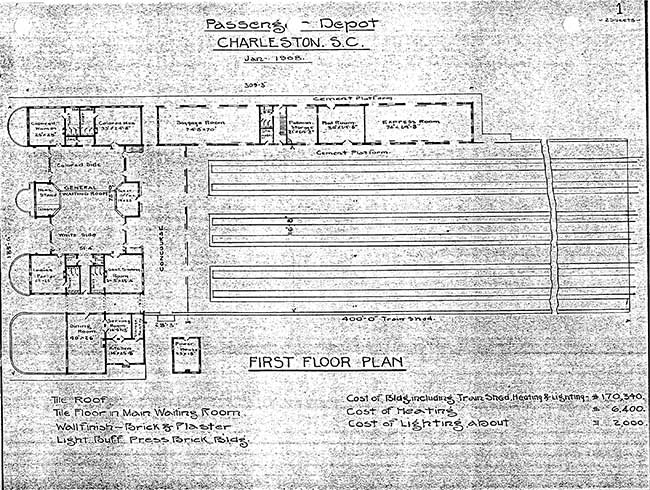 Union Station Floor Plan