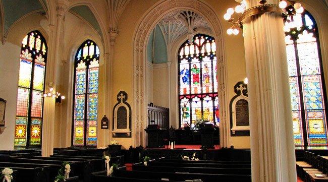 Unitarian Interior