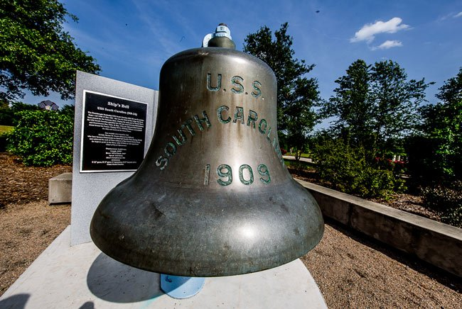 USS South Carolina Bell