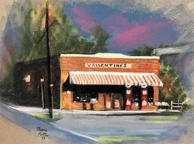 Vallentin's Store, Cope