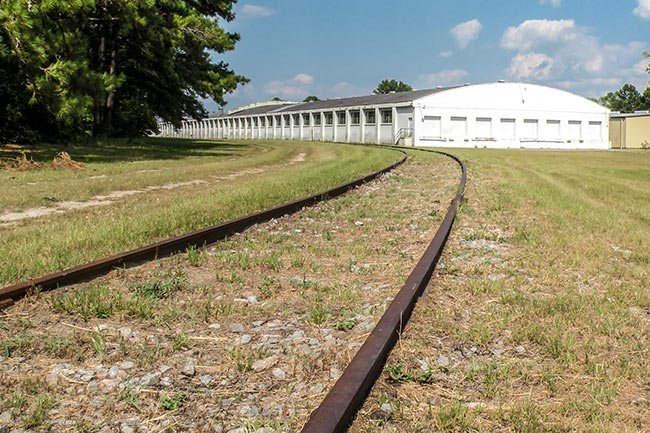 Varnville Train Depot Tracks