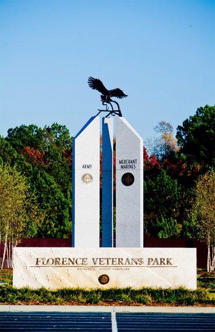 Veterans Park Obelisk