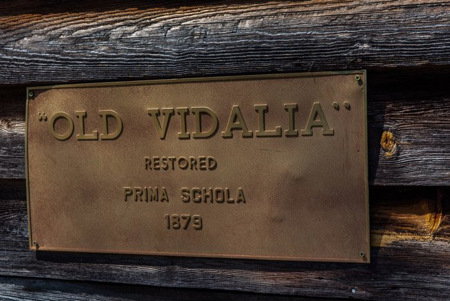 Vidalia School Plaque