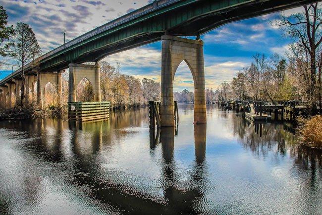 Waccamaw Bridge in Conway, SC