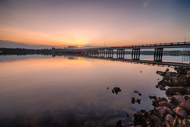 Wando River Swing Bridge