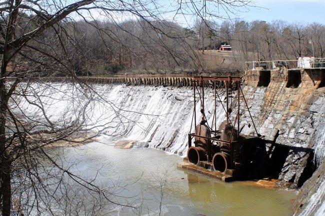 Ware Shoals Dam
