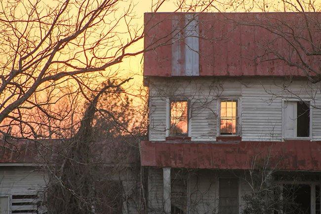 Warren Farm at Sunset
