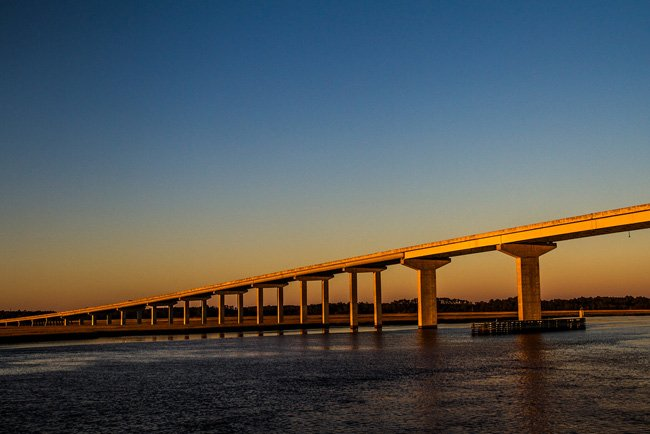 Washington McKinley Bridge Edisto