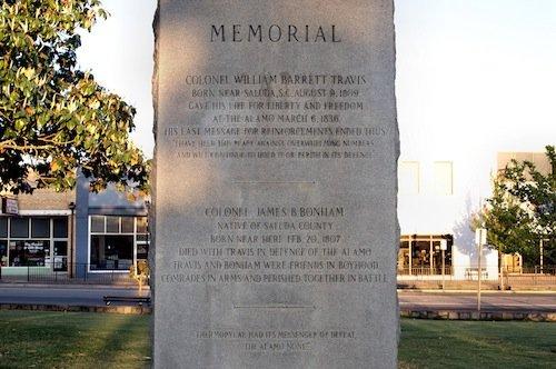 Travis Memorial