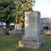 Travis and Bonham Memorial