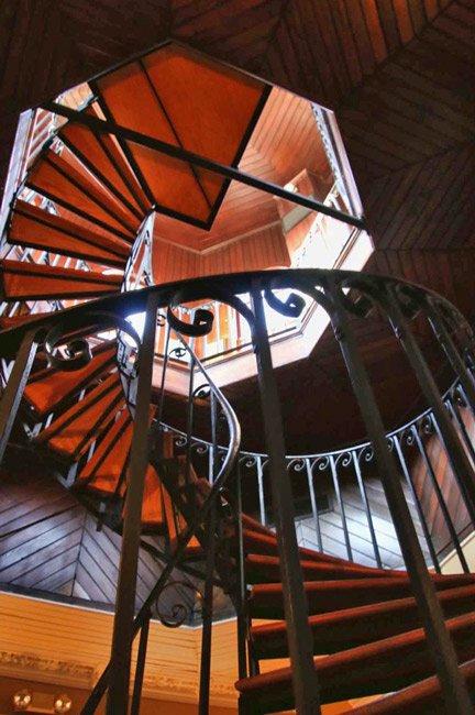 Wentworth Mansion Stairs