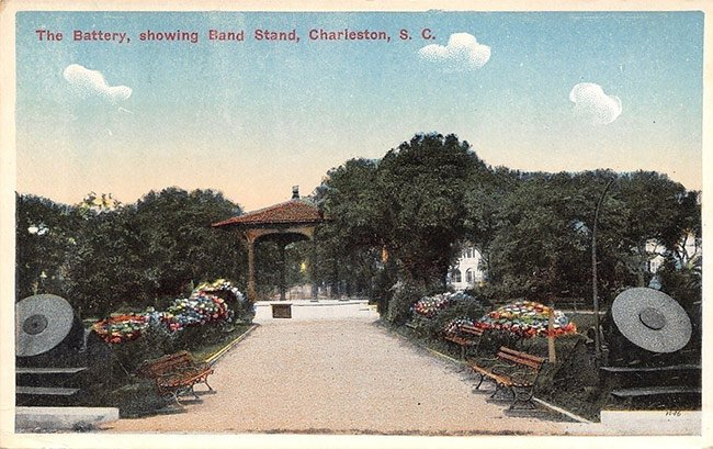 White Point Garden Postcard