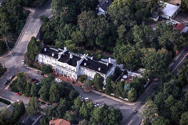Wilcox Inn Aerial