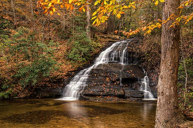 Wildcat Falls Autumn