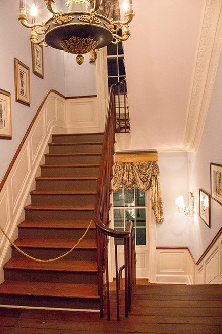 William Aiken House Staircase
