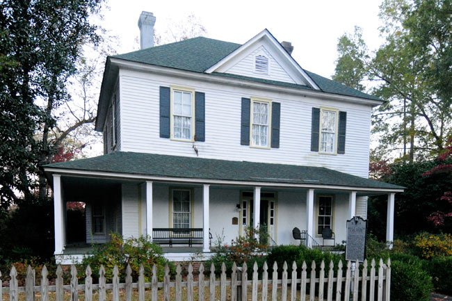 William Apollos James House