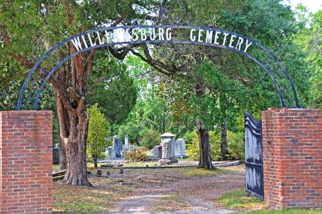 Williamsburg Cemetery Gate