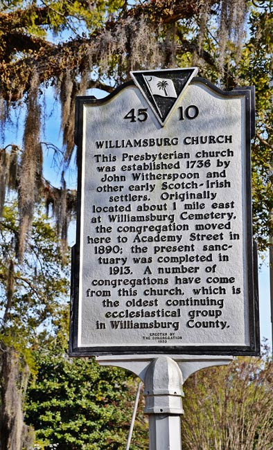 Williamsburg Marker