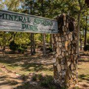 Williamston Mineral Park Sign
