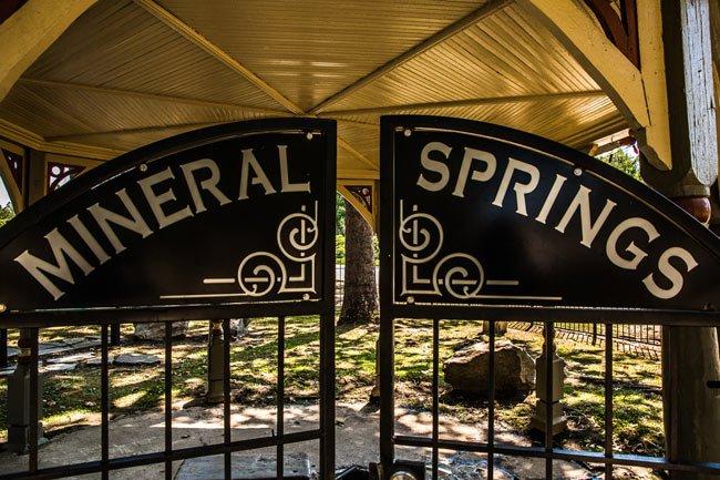 Williamston Mineral Springs Gate